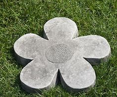 Campania International E111BAS Flower Power Stepping Stone Medium Alpine Stone Finish *** Check this awesome product by going to the link at the image.