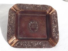 Vintage Copper Ashtray by AgedwithGraceVintage on Etsy