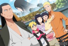 Boruto Naruto the Movie What a beautiful family. Neji, we will never forget you babe