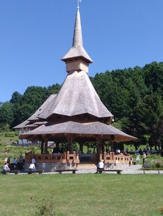 Bârsana Gazebo, Outdoor Structures, Kiosk, Pavilion, Cabana