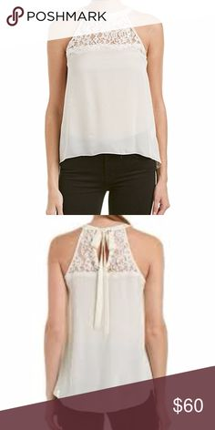 Spotted while shopping on Poshmark: Rachel Zoe Dawson Silk and Lace Shell Lace Tank! #poshmark #fashion #shopping #style #Rachel Zoe #Tops