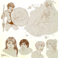 Percy Jackson and the Olympians moments...