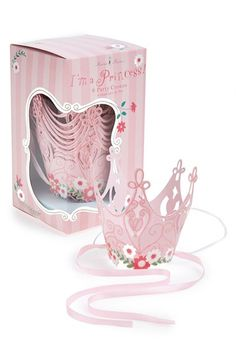 Meri Meri 'I'm a Princess' Party Crowns (8-Pack) available at #Nordstrom