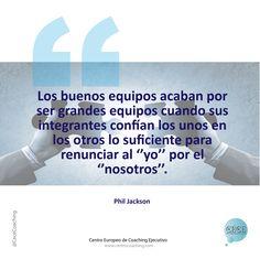 """""""Los buenos equipos..."""" #frases #coaching #empresa #rrhh #coachingequipos #equipos #nosotros"""
