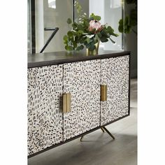 Add a personality to your home with the Candor Sideboard. Furniture Care, Wooden Furniture, Dining Furniture, Mid Century Dining, Modern Sideboard, Moe's Home Collection, Bathroom Wall Sconces, Wood Resin, Teak Wood