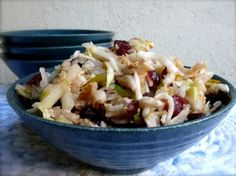Weight Watchers Apple Slaw - 4 Points Plus An easy, healthy, and delicious salad or side dish perfect for fall apple season