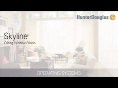 With clean lines and a sleek contemporary look, Skyline Gliding Window Panels from Hunter Douglas offer the perfect sliding window panel solution for both large and small window expanses.