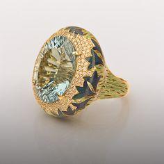 Burdock ring by Ilgiz Fazulzyanov
