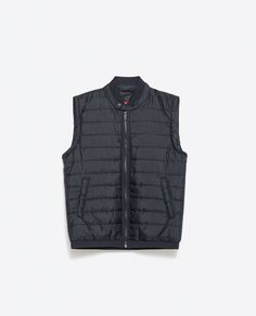 Image 6 of QUILTED WAISTCOAT from Zara