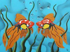 'Goldfish' (Painting by Catherine Harms) www.catherineharmsart.com