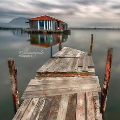 Fisherman's house (Messolonghi lagoon, Greece)