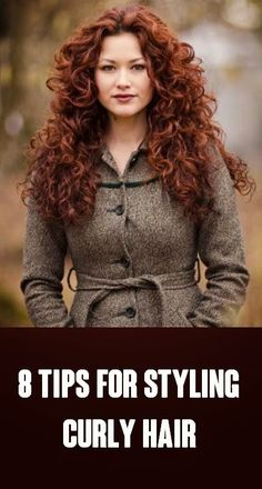 "Red hair (the ""steps"" in the article are only helpful if you've never heard of a single curly-girl tip before)"