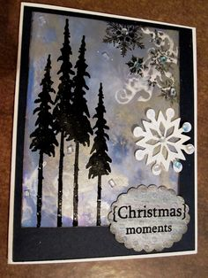 Love this! Tim Holtz & alcohol inks