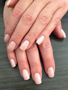 Rockstar Glitter Nails by Melisa Gray. #gelnails #shellac #glitternails #nailsbymelisa