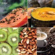 Alguns fatores podem arruinar a saúde da pele e prejudicar o aspecto do shape  =D  Aí vão 5 alimentos que ajudam na boa aparência:  - Óleos graxos essenciais - Abóbora cabotiá - Kiwi - Castanha do Pará - Café  #ConanNutrition #Dica #Saúde #Pele