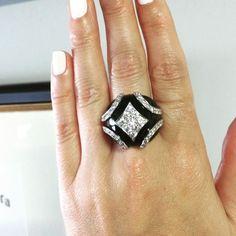 c6b420bff79 A very special  diamondatdusk from  davidwebbjewels. Rare estate diamond