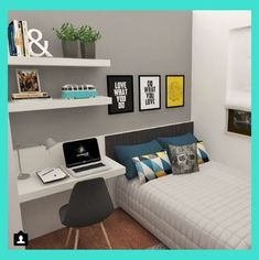 Cool 34 Gorgeous Teenage Boys Bedroom Design Ideas That Will Amaze You. # ideas for small rooms for boys layout 34 Gorgeous Teenage Boys Bedroom Design Ideas That Will Amaze You Boys Room Design, Room Design Bedroom, Room Ideas Bedroom, Small Room Bedroom, Boys Room Decor, Trendy Bedroom, Girls Bedroom, Small Rooms, Master Bedroom