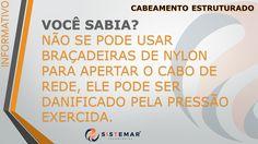 Sistemar Tecnologias Esta precisando de ajuda? Para maiores informações sobre cabeamento estruturado entre em contato : www.sistemar.com.br/