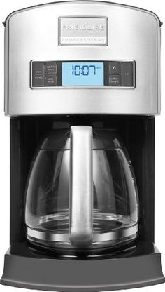 Special Offers - Frigidaire Professional Stainless Programmable 12-Cup Drip Coffee Maker - In stock & Free Shipping. You can save more money! Check It (April 15 2016 at 03:46PM) >> http://standmixerusa.net/frigidaire-professional-stainless-programmable-12-cup-drip-coffee-maker/