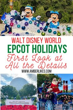 The Epcot International Festival of the Holidays is full of joy and cheer! Get your complete guide now with all the characters, food, activities and cheer you can find at this fun festival! #disney #epcot #disneyholidays #disneyworld #waltdisneyworld All Disney Parks, Walt Disney World Vacations, Disney Resorts, Disney Love, Disney On A Budget, Disney Vacation Planning, Disney World Planning, Disney Christmas Shirts, Christmas Vacation