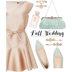 How To Wear Fall Wedding Outfit Idea 2017 - Fashion Trends Ready To Wear For Plus Size, Curvy Women Over 20, 30, 40, 50
