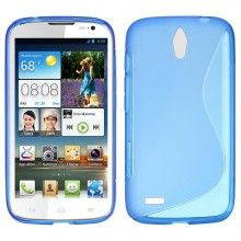 Funda Huawei Ascend G610 MiniGel Sline Azul Claro  € 5,99