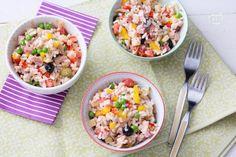 Ricetta Insalata di riso - La Ricetta di GialloZafferano