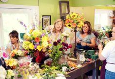 Holly Chapple, 20111123 Floral Design Classes, Florists, Floral Arrangements, Flower Shops