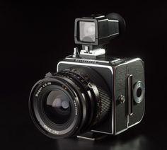 Hasselblad 903SWC, con su objetivo fijo Carl Zeiss Biogon T* 38 mm f/4,5