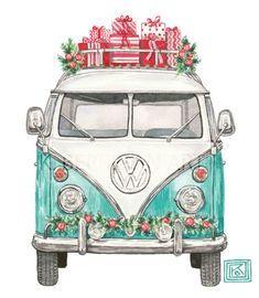 Christmas Drawing, Christmas Art, Vintage Christmas, Watercolor Christmas, Reindeer Christmas, Christmas Vacation, Christmas Fashion, Christmas Ornaments, Watercolor Cards