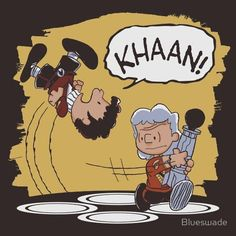 Awesome Peanuts-Star Trek crossover