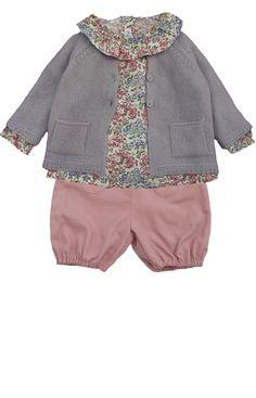 7372601fba505 11 meilleures images du tableau tenues bébé fille 6 mois printemps ...