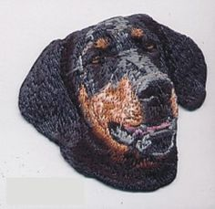 """2/"""" x 3 1//4/"""" White Brown Cavalier King Charles Spaniel Dog Breed Embroidery Patch"""