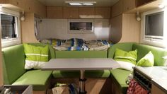 interior of our expedition vehicle