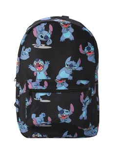 Disney Lilo & Stitch Print Backpack from Hot Topic. Saved to bags. Shop more products from Hot Topic on Wanelo. Lilo Stitch, Disfraz Lilo Y Stitch, Cute Stitch, Capas Iphone 6, Disney Stich, Disney Disney, Stitch Backpack, Cute Backpacks, Printed Bags