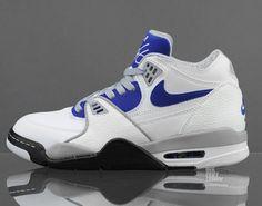 cheaper 94dd3 b6526 Nike Air Flight  89 - White - Hyper Blue - SneakerNews.com