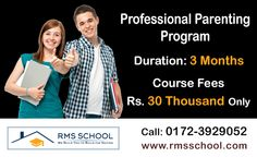 Take a look at the parenting program we have to offer - they are filling up fast!! Call 0172-3929052 !! #Chandigarh #Mohali #Panchkula #India
