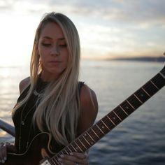 Arianna Powell Cheap Electric Guitar, Bass, Female Guitarist, Rock Style, Girls, Musicians, Metal, Women, Fashion