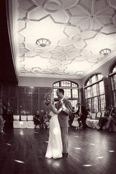 Perfect #firstdance picture at the University Club in #StPaul! Photo by Chris D. #WeddingFirstDance