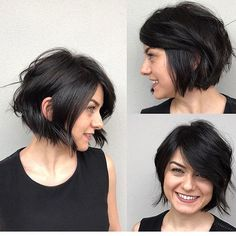 Cute Short Bob Haircut 2018 Latest Bob Haircuts for 2018 Cute Bob Haircuts, Wavy Bob Hairstyles, Trendy Hairstyles, Evening Hairstyles, Updos Hairstyle, Teenage Hairstyles, Hairstyles 2018, Hair Updo, Bob Haircut 2018