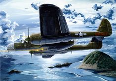 P-61 Black Widow Northrop | P-61 Painting - Moonhappy by Charles Taylor