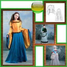 Butterick 4154 Renaissance, 17th & 18th Century Dress Patterns