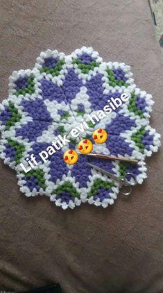 Crochet Potholder Patterns, Crochet Stitches, Knit Crochet, Doilies, Pot Holders, Blanket, Knitting, Crochet Lace, Charms