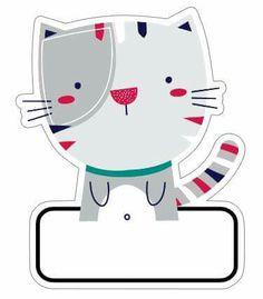 etiquetas Classroom Board, Classroom Decor, School Labels, Blog Backgrounds, Clip Art, Borders For Paper, Binder Covers, Cat Crafts, Printable Labels
