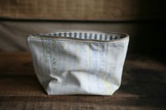 Cotton utility pouch