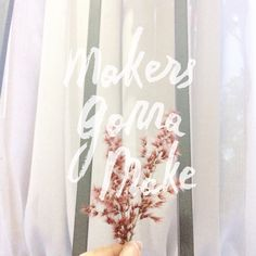 Makers gonna make #flowers #cuteflower