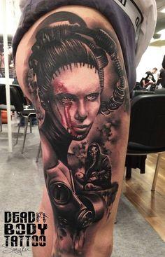 1 miejsce tatuaż soboty na konwencji w warszawie.!!! 1st place Best of Day Saturday WARSAW TATTOO CONVENTION 2014. Takie dziary się robi ludzie !!!! @warsawtattooconvention #wtc2 #tatuaż tattoo, artist , convention , 2014 , realism , inkmagazine , cheyeene , wtc2 , warsaw , tattoo , dziara , new , sick , realism  ,black , Grey , dead  ,body , inkmagazine , Best , lady , gasmask , gas , mask , tattoo , inked , ink , tattoome , instatattoo , tattooartist , tattooart , inkedmag , tattoflash ,
