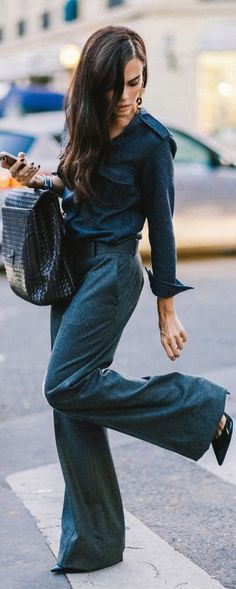 Shades Of Blue / Street Style.