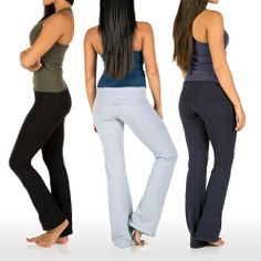 was  $98 now $25... three colors. great for travel, around the house and the gym. Discover a balance between style and movement with these studio pants built from a soft fabric with superior stretchiness!