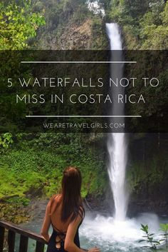 5 WATERFALLS YOU CAN'T MISS WHEN VISITING COSTA RICA! Costa Rica has many things to offer; surfing, bird watching, pristine beaches, hiking, active volcanoes, natural hot springs, zip lining, canyoning…I mean the list goes on and on. And while I loved Costa Rica for all of those things, my favorite activity when abroad is chasing waterfalls. Just like the rest of the natural wonders you can find in Costa Rica, it doesn't disappoint when it comes to waterfalls! By Tessa Torrente for…